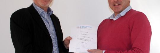 Mike Udin Awarded Adair Strategic Accreditation